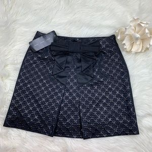 Apart NWT Brocade Skirt With Bow Size 4